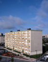Le Havre, Seine-Maritime, Haute-Normandie, France: Council Housing - dull apartment blocks, HLM - photo by A.Bartel