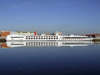 Le Havre, Seine-Maritime, Haute-Normandie, France: Viking Seine River Cruise Ship mirrored on the water - Normandy - photo by A.Bartel