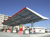 Le Havre, Seine-Maritime, Haute-Normandie, France: Solar Panel Roof, Total Gas Station - photo by A.Bartel