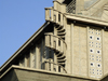 Le Havre, Seine-Maritime, Haute-Normandie, France: spiral staircase - detail of St Josephs church - architect A. Perret - photo by A.Bartel