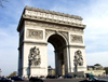 France - Paris: Arc de Triomphe (photo by K.White)