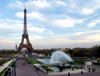 France - Paris: Eiffel Tower and Jardin du Trocadero - photo by K.White