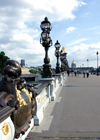 France - Paris: on Pont Alexandre III - engineers Résal and Alby - photo by K.White