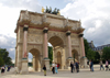 Paris, France: Arc de Triomphe du Carrousel - designed by Charles Percier and Pierre Léonard Fontaine - photo by K.White
