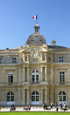 France - Paris: Palais de Luxembourg - seat of the French Senate - façade - Quartier Latin - photo by D.Jackson