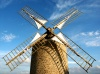 France - Normandy: windmill (photo by R.Sousa)