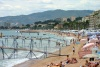 France - Cannes: the corniche (photo by C.Blam)