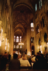 France - Paris: Notre Dame - attending mass - photo by J.Rabindra