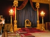 France - Fontainebleau  (Seine et Marne - Ile de France): in the palace - Napoleon's throne room (photo by J.Kaman)