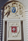 France - Lille: the city's coat of arms (photo by M.Bergsma)