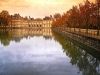 France - Fontainebleau  (Seine et Marne):the palace - reflection II (photo by J.Kaman)