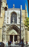 France - Aix-en-Provence (Bouches-du-Rhone / PACA): cathedral of Saint-Sauveur  (photo by G.Frysinger)