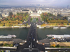 France - La Seine, Pont d'Iéna, Trocadero and Palais de Chaillot - seen from the Eiffel Tower - photo by J.Kaman