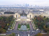 France - Paris: Trocadero and Palais de Chaillot - seen from the Eiffel Tower (photo by J.Kaman)