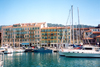 France - Nice (Alpes Maritimes): Bassin Lympia - Quai des Docks - yachts - port - harbor - photo by M.Torres