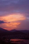 France - Languedoc-Roussillon - Pyr�n�es-Orientales - Banyuls-sur-Mer- Banyuls de la Marenda: dusk - photo by T.Marshall