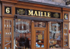 Paris, France: Maille - mustard, vinegar, gherkin and condiments shop - 'Il n'y a que Maille qui m'aille' - gourmet food shop at place de la La Madeleine - 8th arrondissement - photo by A.Bartel
