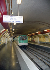 France - Paris: Volontaires metro station - 15th arrondissement - Paris M�tro Line 12 - photo by D.Jackson