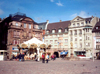 France - Mulhouse / Mulhausen  (Haut-Rhin - Alsace): carrousel at Place de la Réunion (photo by Miguel Torres)