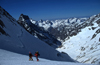 La Grave, Brian�on, Hautes-Alpes, PACA, France: ski touring in �crins National Park - photo by S.Egeberg