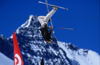 Tignes, Savoi, Rh�ne-Alpes, France: free skier jumping in the snowpark - photo by S.Egeberg