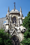 Paris, France: Notre-Dame cathedral - Gothic details - Unesco world heritage site - Île de la Cité - 4e arrondissement - photo by A.Bartel