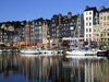 Honfleur, Calvados, Basse-Normandie, France: the old Harbour - once one of the five principal ports for the slave trade in France - photo by A.Bartel