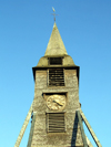 Honfleur, Calvados, Basse-Normandie, France: St. Catherines Church - bell tower with clock - photo by A.Bartel