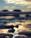 84 Franz Josef Land: Sunset scenic - photo by B.Cain