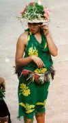 French Polynesia - Ua Huka island - Marquesas: girl II (photo by G.Frysinger)