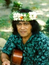 French Polynesia - Nuku Hiva island - Marquesas: Taiohae - musician (photo by G.Frysinger)