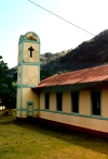 French Polynesia - Ua Huka island - Marquesas: church (photo by G.Frysinger)