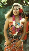 French Polynesia - Ua Huka island - Marquesas: girl (photo by G.Frysinger)