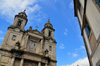 Santiago de Compostela, Galicia / Galiza, Spain: San Francisco church - at the end of Rua San Francisco - photo by M.Torres
