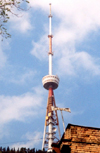 Georgia - Tbilisi / Tblissi / TBS: TV tower - antenna - photo by M.Torres