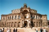 Germany / Deutschland - Dresden / Drjezdzany / Dresde (Saxony / Sachsen): Semper Opera House - former Royal Court Theatre - High Renaissance style - Semperoper - architect Gottfried Semper (photo by J.Kaman)