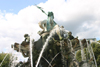 Germany / Deutschland - Berlin: Neptune fountain - Neptunbrunnen  (photo by C.Blam)