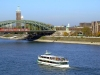 Germany / Deutschland - Cologne / Koeln / CGN: Rhein River - bridge (photo by M.Bergsma)