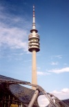Germany - Bavaria - Munich / M�nchen: television tower (TV Turm) (photo by M.Torres)