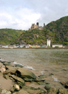 Germany / Deutschland / Allemagne - Cochem (Rhineland-Palatinate / Rheinland-Pfalz): castle by the Mosel river - photo by Efi Keren