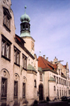 Germany - Bavaria - Regensburg / Ratisbon - Upper Palatinate / Oberpfalz: on Waffnergasse - photo by M.Torres