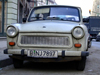 Berlin, Germany / Deutschland: DDR's Trabant still active - car - photo by M.Bergsma