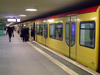 Germany / Deutschland - Berlin: U-Bahn train (photo by M.Bergsma)