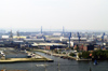Germany / Deutschland - Hamburg: industrial landscape (photo by W.Schmidt)