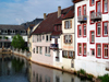 Bad Kreuznach - Rhineland-Palatinate / Rheinland-Pfalz, Germany / Deutschland: canal view - photo by Efi Keren