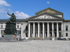 Germany - Bavaria - Munich / M�nchen: National Theatre - Opera house, home base of The Bayerische Staatsoper / Bavarian State Opera - Max-Joseph-Platz - Nationaltheater M�nchen - architect Leo von Klenze - photo by J.Kaman