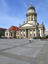 Germany - Berlin: Gendarmenmarket - German Cathedral / Deutscher Dom, designed by Martin Grünberg, now a Museum of German History - photo by M.Bergsma