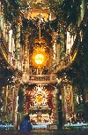 Germany - Bavaria - Munich / M�nchen: Assamkirch - a baroque jewel spared by the American bombs (photo by M.Torres)