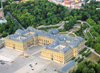 Würzburg, Lower Franconia, Bavaria, Germany: the Residenz - from the air - photo by D.Steppuhn