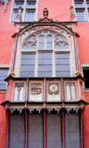 Germany / Deutschland - Koblenz (Rhineland-Palatinate / Rheinland-Pfalz): oriel window - Gothic architecture - photo by M.Torres